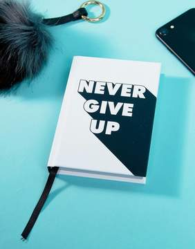 Books Never Give Up Book