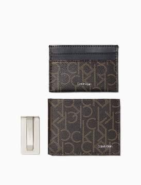 Calvin Klein monogram 3-piece gift set
