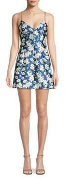 Alice + Olivia Tayla Floral Mini Dress