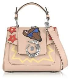 Trussardi Women's Beige Leather Handbag.