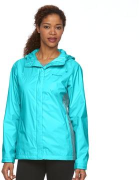 Columbia Women's Grey Skies Waterproof Jacket