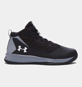 Under Armour Boys' Pre-School UA Jet Mid Basketball Shoes