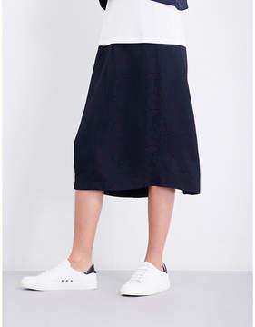 Claudie Pierlot Floral-jacquard skirt