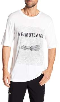 Helmut Lang Box Fit Graphic Tee
