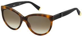 Safilo USA Max Mara Modern III Oval Sunglasses