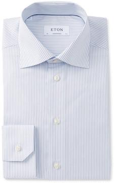 Eton Striped Regular Fit Dress Shirt