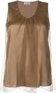 Brunello Cucinelli layered vest