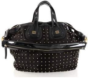 Givenchy Pre-owned: Nightingale Satchel Studded Nylon Medium.
