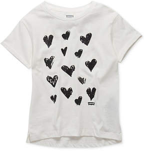 Levi's Chillin' Graphic-Print Cotton T-Shirt, Toddler Girls (2T-5T)