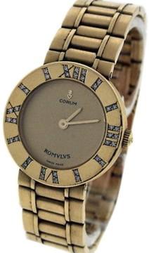 Corum Romvlvs 18K Yellow Gold & Diamond 26mm Watch