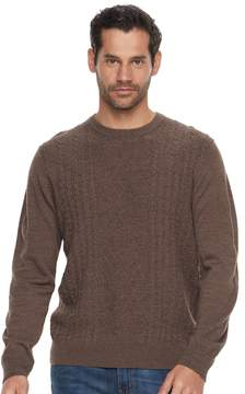 Dockers Men's Comfort Touch Classic-Fit Crewneck Sweater