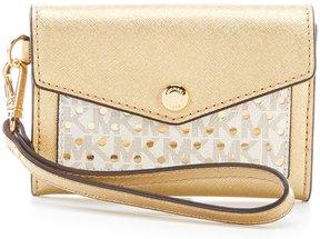MICHAEL Michael Kors Honey Medium Card Holder - GOLD/VANILLA - STYLE