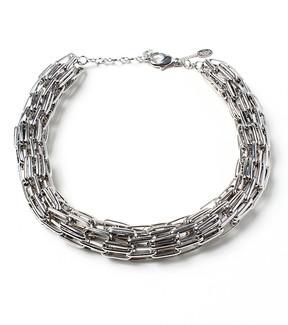 Amrita Singh Silvertone Missy Link Chain Necklace