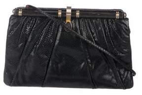Judith Leiber Pleated Karung Bag