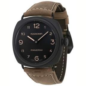 Panerai Radiomir Black Dial Men's Hand Wound Watch