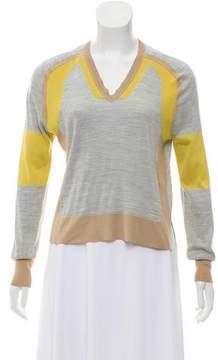 Belstaff Colorblock Silk Sweater