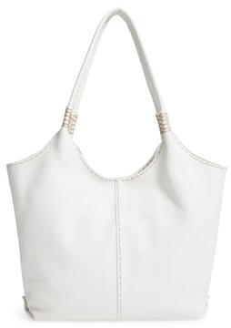 Frye Naomi Leather Shoulder Bag - White