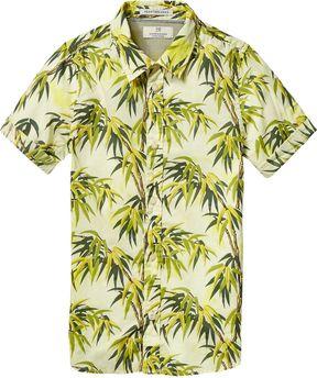 Scotch & Soda Tropical Short Sleeved Shirt