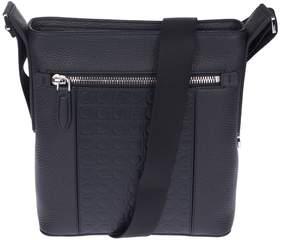 Salvatore Ferragamo Logo Embossed Messenger Bag