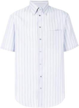 Armani Collezioni striped short sleeve shirt