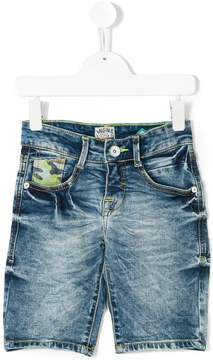 Vingino distressed denim shorts