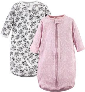 Hudson Baby Toile Long-Sleeve Sleeping Bag Set - Newborn