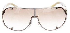 Saint Laurent Gradient Shield Sunglasses