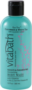 Vitabath Cucumber & White Tea Body Wash