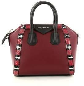Givenchy Pre-owned: Antigona Bag Leather With Snakeskin Mini.