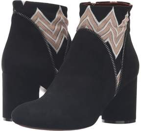 Missoni Inset Print Ankle Boot Women's Boots