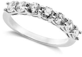 Arabella Sterling Silver Ring, Swarovski Zirconia 7-Stone Ring (2-1/6 ct. t.w.)