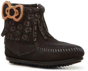 Minnetonka Girls Hello Kitty Fringe Toddler & Youth Boot