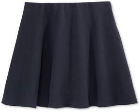 Nautica Girls' Basket-Weave Scooter Skirt, Big Girls