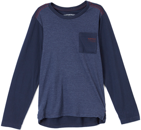Buffalo David Bitton Nightly Heather Pocket-Front Harrow Sweater - Boys