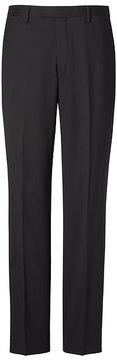 Banana Republic Slim Solid Wool Trouser