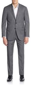 Corneliani Regular-Fit Tonal Striped Virgin Wool Suit