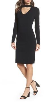 Eliza J Women's Choker Collar Sheath Dress