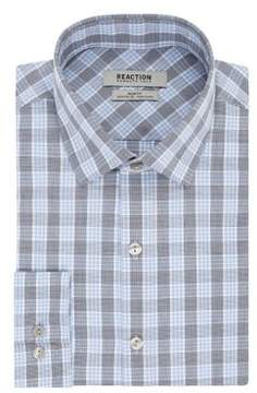 Kenneth Cole Reaction Check Cotton Dress Shirt