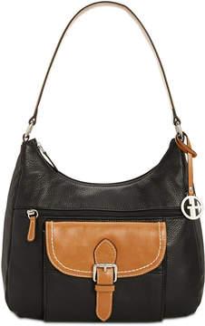 Giani Bernini Pebble Leather Hobo, Created for Macy's