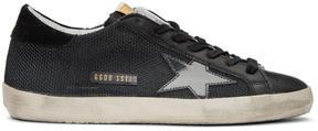 Golden Goose Deluxe Brand Black Cord Superstar Sneakers