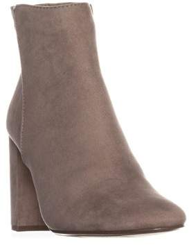 Material Girl Mg35 Cambrie Block-heel Ankle Boots, Grey.