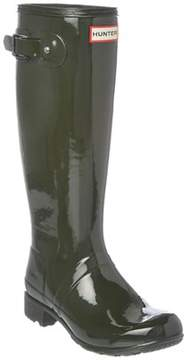 Hunter Women's Packable Gloss Boot.