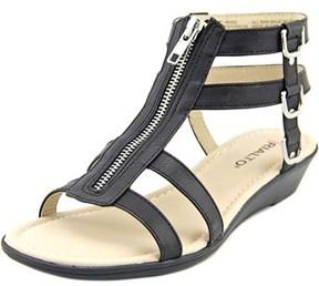 Rialto Gracia Open Toe Synthetic Gladiator Sandal.