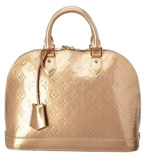 Louis Vuitton Beige Monogram Vernis Leather Alma Pm. - NO COLOR - STYLE