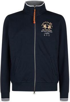 La Martina Full Zip Crest Jacket