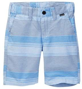 Hurley One & Only Print Twill Shorts (Little Boys)