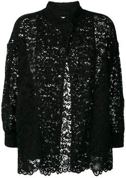 Antonio Marras lace band collar jacket