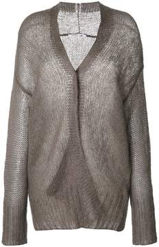 Agnona semi sheer cardigan