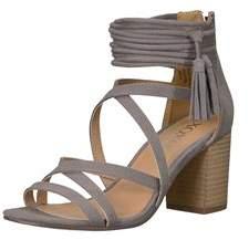 XOXO Womens Elle Fabric Open Toe Casual Strappy Sandals.