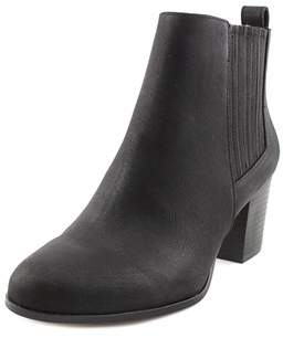 INC International Concepts Fainn Women Round Toe Synthetic Black Bootie.